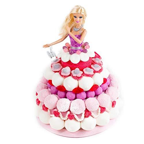 Tarta chuches Barbie muñeca oficial