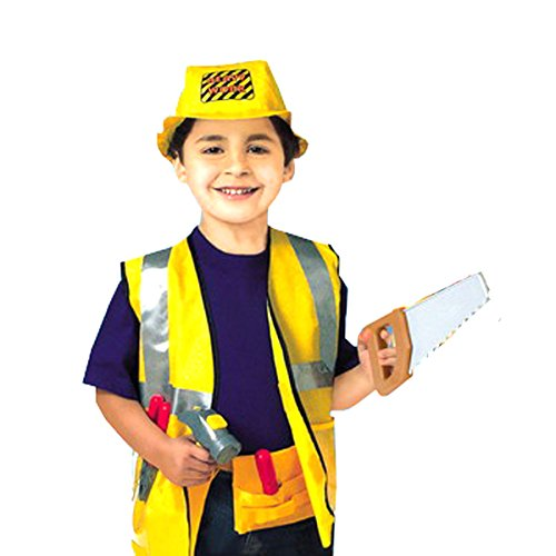 [Little Big World Construction Worker Deluxe Costume] (Tool Belt Costume)
