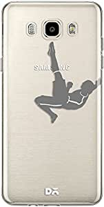DailyObjects Fancy Footwork Clear Case For Samsung Galaxy J7