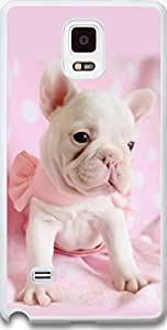 Galaxy Note 4 Case Dseason Samsung Galaxy Note 4 Case, High Quality Fashionable Protector Pink the lovely puppy