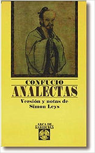 Analectas by Confucio (2001-08-02)