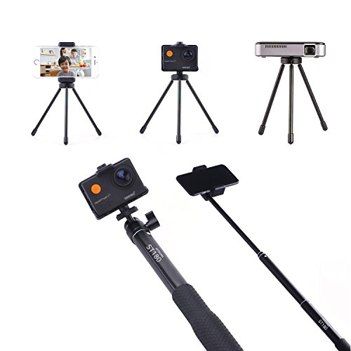 APEMAN Selfie Stick Tripod Extendable Monopod for Gopro/Action Camera/Iphones/Huawei/Projectors