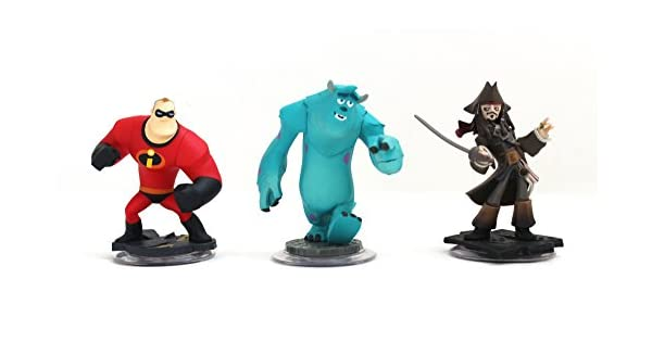 Amazon.com: Disney Infinity Characters Jack Sparrow Mr ...