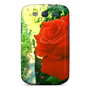 Cute High Quality Galaxy S3 The Freedom Of A Rose Case