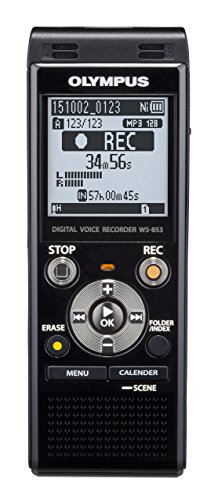 Olympus Digital Voice Recorder WS-853, Black (Renewed) for sale  Delivered anywhere in USA