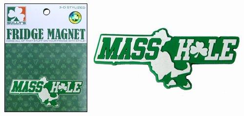 Masshole Magnet (Green)