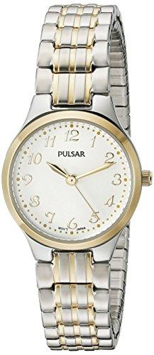 Pulsar Women's PG2032 Expansion Analog Display Japanese Quartz Two Tone Watch