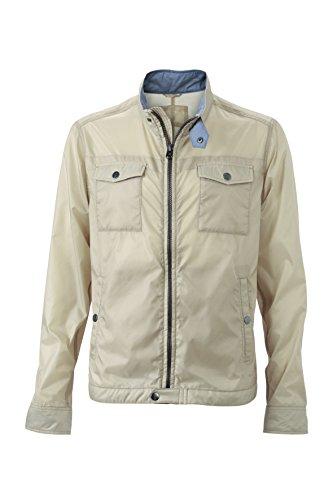 Jacket Quando Ideale Travel Il Tempo Libero Per Viaggio Giacca Men's In È Sand E Si Moderna Leggera ZwxBq1
