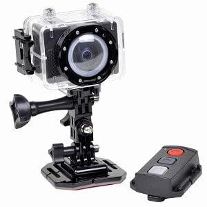 Astak ActionPro CM-7200 1080p HD Sports Action Waterproof Digital Camera/Camcorder w/mini-HDMI & 4GB
