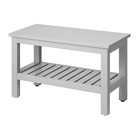 Peachy Amazon Com Ikea Bench Gray 32 5 8 30214 14292 44 Machost Co Dining Chair Design Ideas Machostcouk