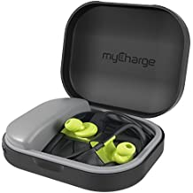 myCharge PowerGear Tunes Protective Charging Case for Earbuds Headphones (1000 mAh / 1A Output)