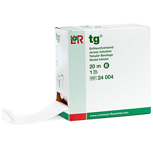 """TG-Tubular Bandage Size 6 for arms, feet and childrens legs, 6.4cm x 20m (2½ """" x 22 yds) (Tg Tubular Bandage)"""