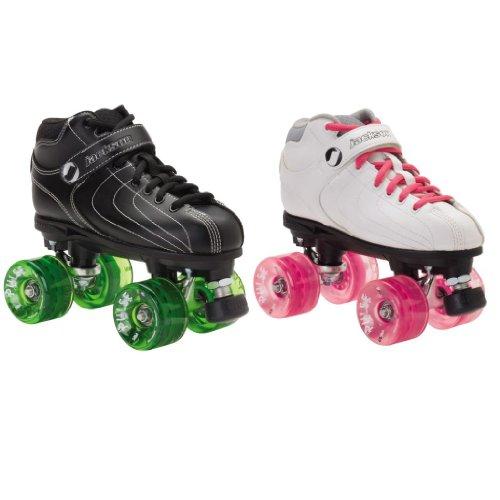 Jackson Vibe Pulse Outdoor Roller Derby Skates - Jackson Vibe with Atom Pulse Outdoor Wheels