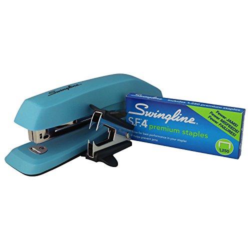 Deluxe Stapler - Swingline 3-in-1 Deluxe Desktop Stapler Set, Includes 1250 1/4
