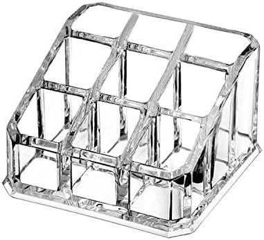 Caja organizadora de maquillaje transparente para cosméticos y ...