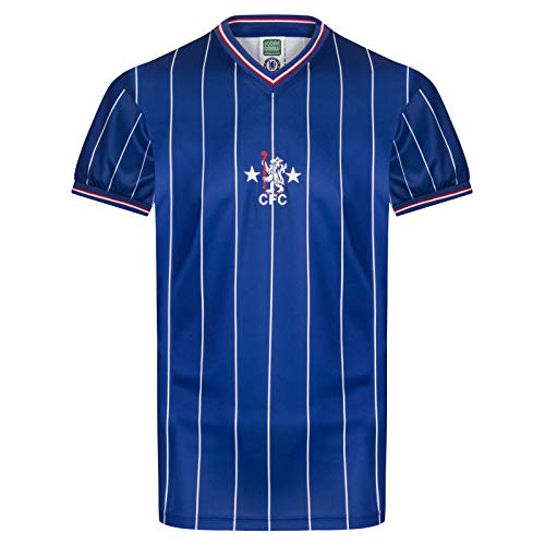 1982 Chelsea Retro Home Football Shirt - Large