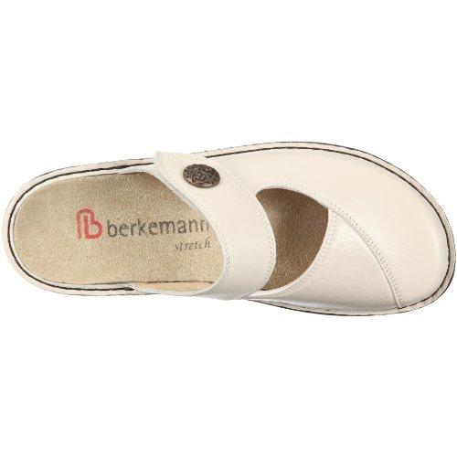 Berkemann Aventin Heliane 3457 - Zuecos para mujer Beige (Beige/Beige)