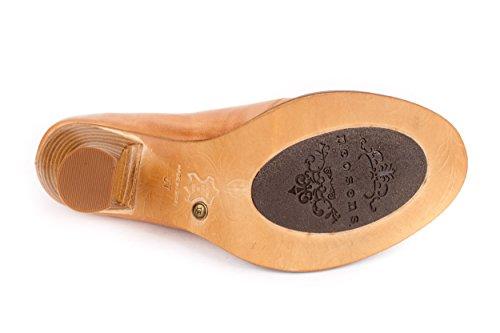 Neosens Damen Rococo Pumps Ankle Boots Stiefelette Beige Gr. 37