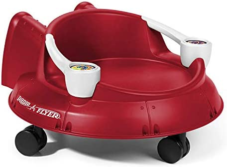 Radio Flyer Spin Saucer Red