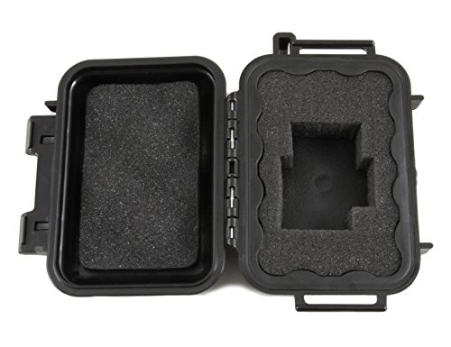 "SMOKESAFE Mini 2.0 [2018 Update] 5"" Customizable, Odor Resistant Foam Pipe Case fits Mini Glass Pipes up to 3.5 inches – Waterproof Odor Case for Dry Herbs, Smoking Pipes, Lighters or More by CLOUD/TEN (Image #3)"