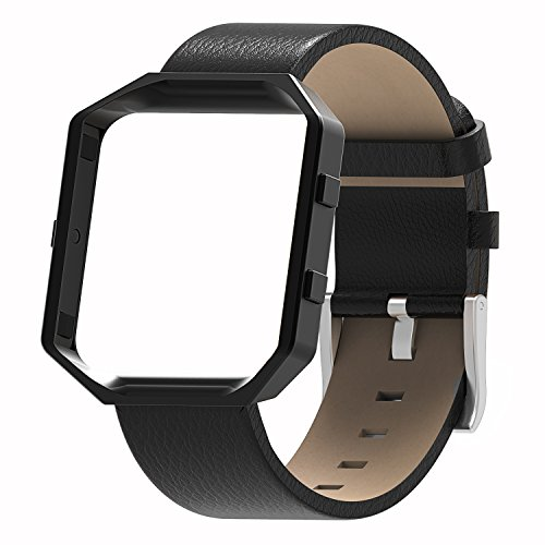 Henoda Fitbit Blaze Leather Fitness
