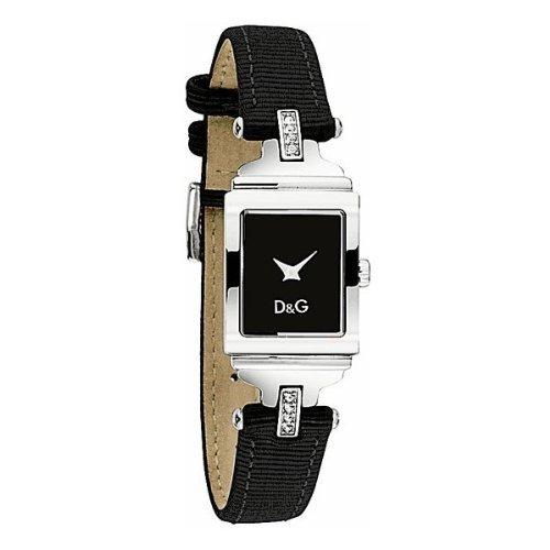 Dolce & Gabbana DW0334 - Reloj analógico de cuarzo para mujer con correa de piel,. Emanuel Ungaro