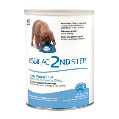 - Petag Esbilac 2Nd Step Puppy Weaning Food, 14 Ounce Container