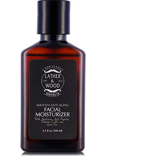 Face Moisturizer for Men - Lather & Wood's Luxurious Sophist