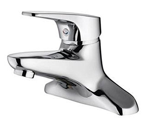 Full copper double hole three hole bathroom basin basin basin basin bathroom wash basin hot and cold water faucet