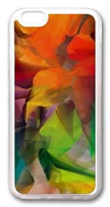 Colorful Petals Custom Case For Ipod Touch 4 Cover PC Transparent