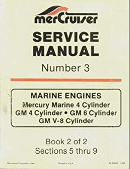 mercruiser service manual number 3 book 2 of 2 book 2 of 2 rh amazon com mercruiser service manual 23 pdf mercruiser service manual 23 pdf