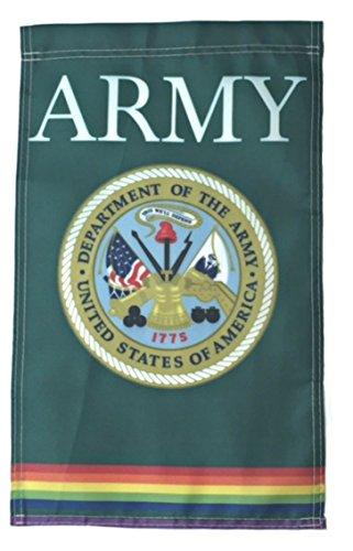 Flag Link - Strongest Link Rainbow Gay Pride ARMY Nylon 12x18 Garden Flag Made is USA
