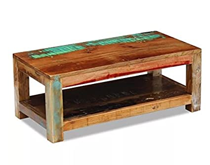 Delicieux Coffee Table Made Of Reclaimed Wood Fully Handmade ComfyLeads