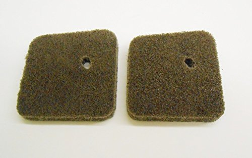New Pack of 2 Air Filter fit for Stihl FS38 FS45 FS55 HS45 FC55 # 4140-124-2800