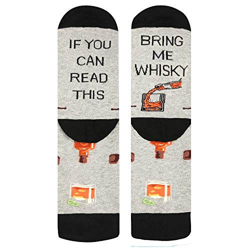 Bring Me Whiskey Socks - Available for Beer, Wine, Scotch and Martini
