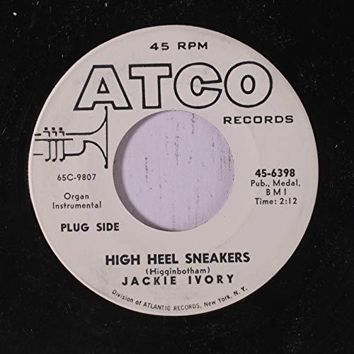 high heel sneakers / three tickets to georgia 45 rpm single