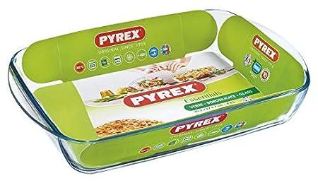 Pyrex Classic Vidrio Fuente para Horno, 4.69 cm: Amazon.es: Hogar