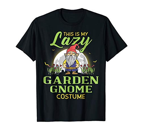This Is My Lazy Garden Gnome Costume Halloween Shirt -