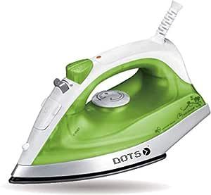 Dots Steam Iron, 1300W, Green, SN-2353