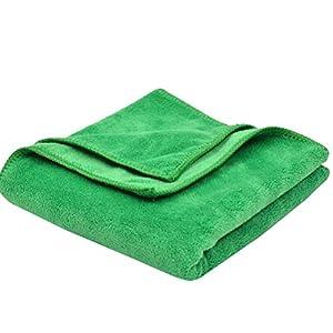"""Chemical Guys (MIC_506_03) 16"""" x 16"""" Professional Grade Premium Silk Banded Microfiber Towel, (Pack of 3)"""