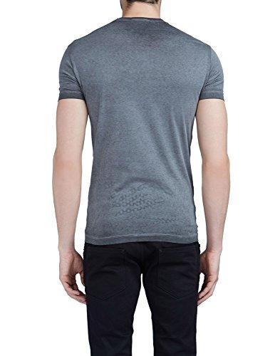 Dsquared2 Herren S71GD0408S22427855 Grau Baumwolle T-Shirt