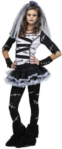 Bride Halloween Costumes (Monster Bride Teen/Junior Costume - Teen)