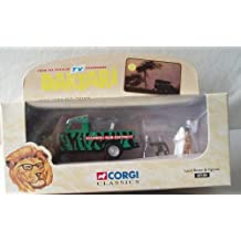 Corgi Classic Daktari Land Rover With Judy The Chimp And Clarence The Cross-Eyed Lion By Corgi IN 1998 by Corgi