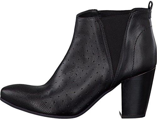 Mujer Negro Tamaris caño botines de bajo negro qwAa1