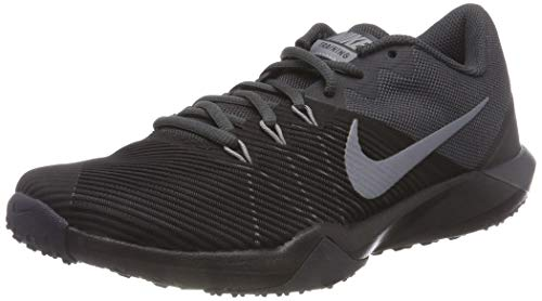 Nike Men's Retaliation Trainer Cross, Black/Metallic Cool Grey-Anthracite, 10.5 Regular US