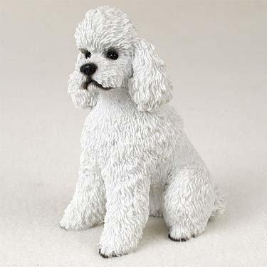 Conversation Concepts Poodle White W/Sport Cut Standard (White Standard Poodle)