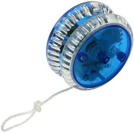 Yo yo professionnel avec lumi/ère Pour samuser 2 couleurs diff/érentes Yo yo starter Quantit/é au choix bleu transparent