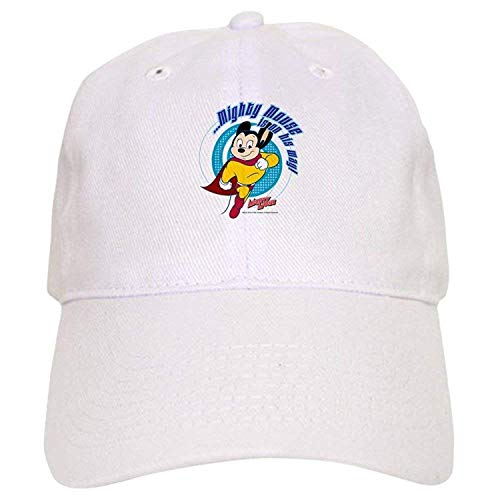 Mighty Mouse is On His Way Cap - Baseball Cap Adjustable Closure, Unique Printed Baseball Hat -