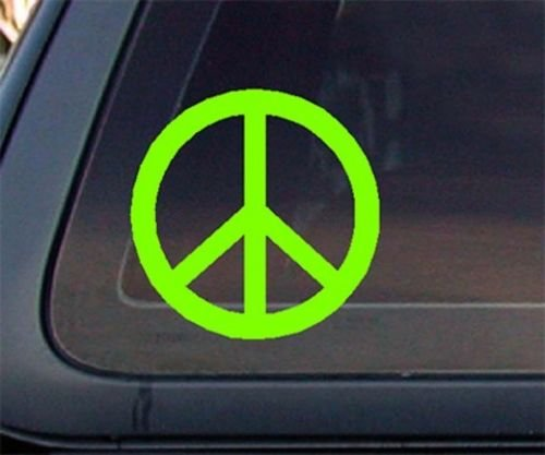Peace Is Patriotic Bumper Sticker - Peace Sign Symbol Decal Sticker American Flag USA Large Inch Patriotic Auto Bumper Sticker Vinyl Car Truck RV SUV Boat Window Truck Car Buy - Edwin Group of Companies. ... (Lime Green)
