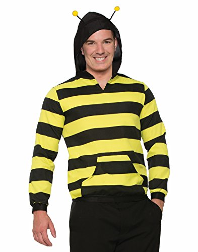 Forum Novelties Bee Adult Hoodie with Antenna STD